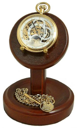 Wooden Pocket Watch Stands